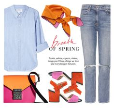 """""""Spring.."""" by rasa-j ❤ liked on Polyvore featuring Velvet, Pussycat, GRLFRND, Geox, MCM, Christian Dior and womensFashion"""