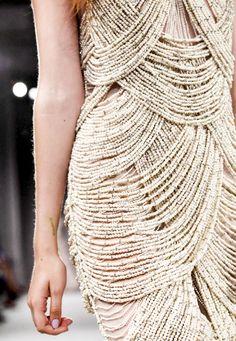 marchesa detail, pearl, wedding dressses, marchesa spring, bead, fashion ideas, fashion details, project runway, gown