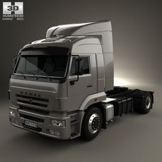 model of KamAZ 5460 Tractor Truck 2010 Mining Equipment, Cool Trucks, Volvo, Tractors, Track, Models, History, Business, Inspiration