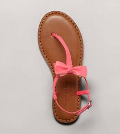 AE bow sandals<3