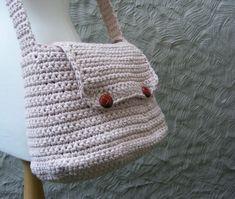 Messenger Bag Crochet Pattern / Tutorial  by TheHappyCrocheter, $4.95
