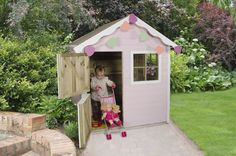 Childrens Playhouse Plans 549157748306740290 - Children Playhouse Natural Colour Wooden Outdoor Garden Kids Activity Play Toy Source by gthepoetc Outside Playhouse, Garden Playhouse, Playhouse Plans, Playhouse Outdoor, Childrens Playhouse, Outdoor Play Equipment, Timber Roof, Forest Garden, Garden Buildings