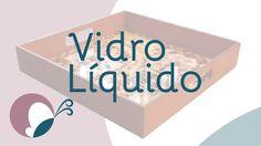 Aula passo a passo de vidro líquido (verniz vidro cristal) com uma bandeja de MDF. Nessa aula, ensino como preparar e aplicar corretamente o vidro líquido a ...