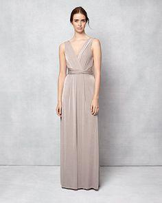 Phase Eight Samantha Full Length Dress Brown
