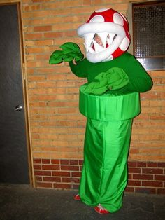 piranha plant - Koopa Troopa Halloween Costume