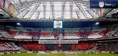 Tifo from Ajax Amsterdam. RESPECT!!!