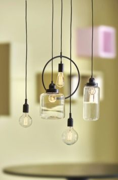 Design Lab, Living Room Inspiration, Home Interior Design, Interior Ideas, Lighting Design, Living Spaces, Modern, New Homes, Ceiling Lights