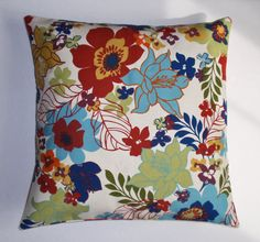 Shop my World of Etsy SALE: Take 10% off everything in my ON SALE Category!! But HURRY today's the last day... Floral Confetti Accent Pillow Cover https://etsy.me/2E8yzwc #housewares #rainbowpillow # springfloralpillow #springdecor #housewarminggift