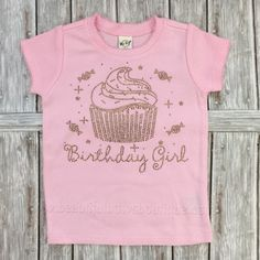 This listing is for the fitted style pink and gold rhinestone shirt pictured How perfect for a or birthday party! The words and cupcake are designed in sparkling. Girl 2nd Birthday, 2nd Birthday Parties, Rhinestone Shirts, Gold Rhinestone, Tutu, Big Hair Bows, Shirts For Girls, Girl Shirts, Birthday Shirts