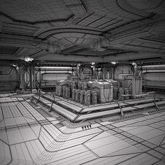 3D MODEL: https://www.turbosquid.com/3d-models/max-sci-fi-spaceship-station/745307?referral=cermaka