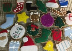 I know it's early, but just had to 'stitch' a fresh batch of FELT Christmas Cutout Cookies! Perfect to leave out for Santa!! Order a set at FeltSewReal@aol.com