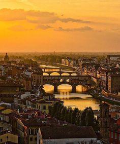 Golden Hour in Florence Italy Photo by @sennarelax by worldluxurymillionaire #rolex #daytona #rolexdaytona #watchesformen