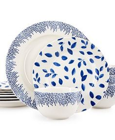 Martha Stewart Collection Stockholm Dinnerware Mix & Match Collection, Only at Macy's - Dinnerware - Dining & Entertaining - Macy's Bridal and Wedding Registry