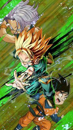 Kid Trunks New Dragon, Dragon Ball Z, Dbz, Manga Dragon, Son Goku, Manga Anime, Anime Art, Naruto, Red Flag