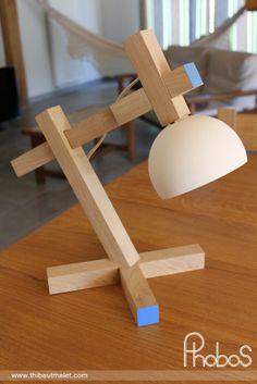Lampe de bureau PHOBOS par Thibaut Malet