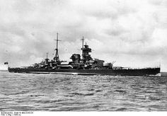 Admiral Hipper was a heavy cruiser of the German navy. It received his name in honor of the admiral of the German fleet - Franz Ritter von Hipper. Trondheim, Heavy Cruiser, Capital Ship, Brest, Armada, Navy Ships, Aircraft Carrier, Navy, Boats