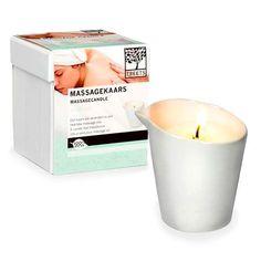Vela masaje con aceite esencial de té blanco | Tecniac