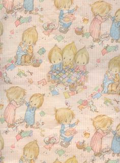 Betsey Clark Wrapping Paper - Used to buy sheets at The Crescent stationers but never use it!