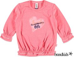 Babyface Longsleeve voor meisjes roze - Meisjes T-shirts lange mouw €13,95
