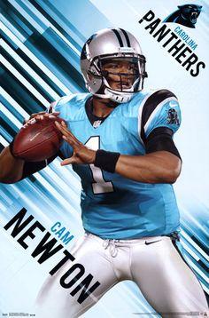 Cam Newton Carolina Panthers Poster at AllPosters.com
