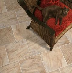 The Galway Tile Carmona Stone by Design Distinctions offers the appearance of stone with this laminate option. Natural color and texture variations support the beautiful look of stone while the surface is finished to protect against stains, fading and wear.