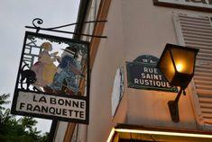 La rue Saint-Rustique (Paris 18ème). #paris #montmartre
