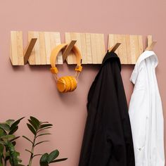 Switchboard Coat Rack | iLoveHandles H:12.7cm W:76.2cm D:2.5cm, 25 hooks, installed with four hidden screws
