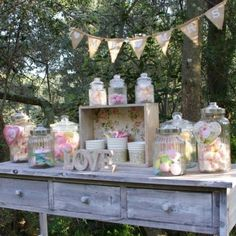 candy bar mariage champetre - Recherche Google