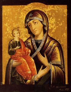 Three-handed Mother of God #Russian Icon