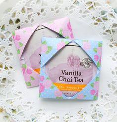 Origami Tea Packet Favors
