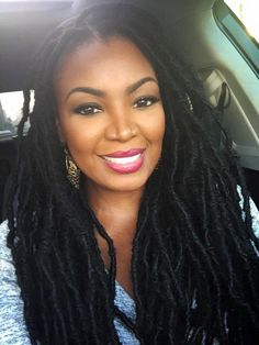 Beyond Gorgeous!!! love her dreads!!!