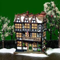 D56 Dickens Village The Timbers Hotel 58742 NIB