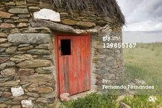 Stock Photo : Typical stone hut. Membrio, Provincia de Caceres, Extremadura, Spain