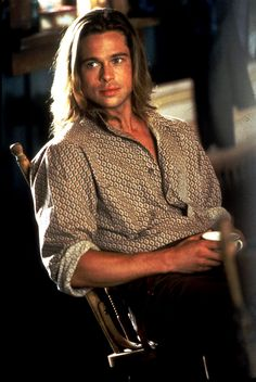 "Brad Pitt... as close to perfection in 1994 as is humanly possible... Tristan Ludlow in Legends of the Fall... no wonder it ends so tragically. ""... he was  a rock they broke themselves against..."""
