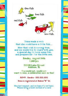 Dr Seuss Baby Shower Ideas | ... shower. In case you didn't know I'm all about themes and being mathcy
