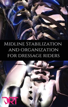Learn how to organize your spine for better dressage posture