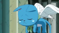 Anime Screencap and Image For Fairy Tail Fairy Tail Cat, Fairy Tail Happy, Fairy Tail Ships, Fairy Tail Anime, Fairy Tail Images, Happy Wallpaper, Gifs, Aesthetic Anime, Cute Wallpapers