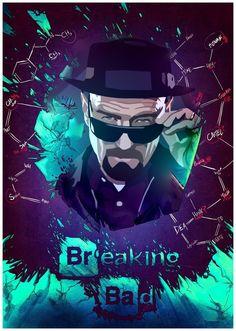 Breaking Bad Tv Series, Breaking Bad Art, Breaking Bad Poster, Breakin Bad, Marvel Tattoos, Call Saul, Heisenberg, Walter White, The Wiz