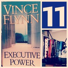 """#EmptyShelf Challenge Book 11: """"Executive Power"""" by Vince Flynn. Another solid Mitch Rapp thriller!"""