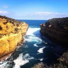 #twelveapostles #ocean #blue #sky #cliffs #warrnambool #australia #victoria #travel #discover by myonlinephotojournal