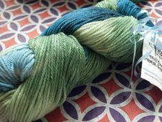 Phat Fiber Sample Box: June Pryce Fiber Arts Sea Nymph Yarn giveaway!