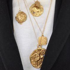 "1,712 Likes, 23 Comments - MonicaAinley/de la Villardière (@monicaainley_dlv) on Instagram: ""The Originals. @alighieri_jewellery """