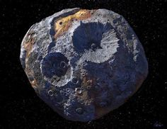 NASA-Sonden sollen Metall-Asteroiden und Jupiter-Trojaner erkunden | heise online