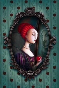 Benjamin Lacombe Snow White queen