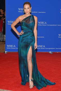 Hannah Davis. See what all the celebrities, including Chrissy Teigen and Martha Stewart, wore at the White House Press Correspondents' Dinner.