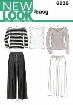 Sewing Clothes, Diy Clothes, Ladies Clothes, Clothing Patterns, Sewing Patterns, Vogue Patterns, Vintage Patterns, Vintage Sewing, New Look Women