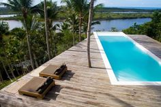 Villa in Itacaré, Brazil. Pure Living In Itacare - NEW !!! The modern architecture combines nature and living fluently. Living in and living with the tropical forest with panoramic views of the Mata Atlantica the Rio de Contas and the Atlantic Ocean.  The Hide-Away, which ...