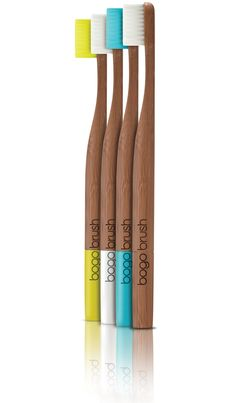 Bogobrush toothbrush made of bamboo #utensils #trends #design #ecodesign #bamboo #bogobrush