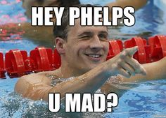 Lochte is totally dominating Phelps....