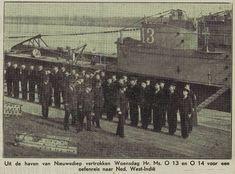 Foto: Inspectie van de bemanning voor vertrek naar West Indië